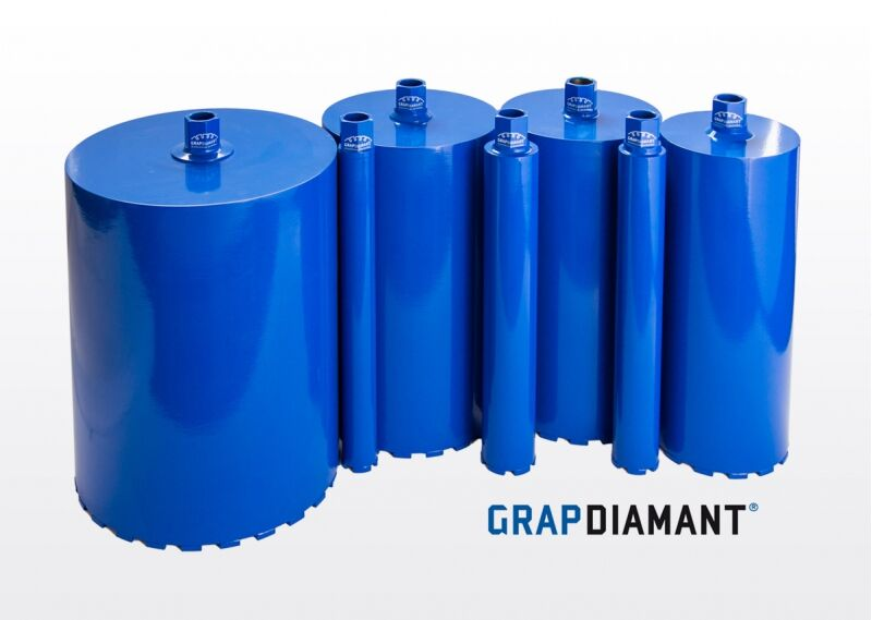 GRAPDIAMANT Diamantová jadrová vŕtacia korunka 37 mm x 450 mm